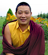 Photo of Ogyen Tulku, Upstate NY, 2003