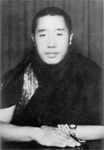 HH Penor Rinpoche in his twenties