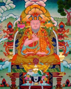 First Throneholder, Vidyadhara Kunzang Sherab