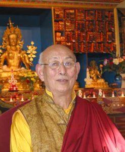 HE Tulku Thupten Palzang Rinpoche