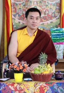 His Holiness Mugsang Kuchen Rinpoche